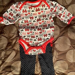 Baby Girl's Bow Outfit
